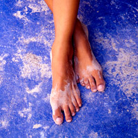 beauty feet editorial